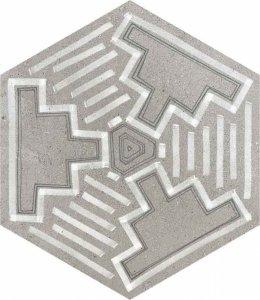 Фото  Hexagono Igneus Cemento