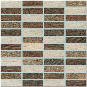 Фото  Mosaic Rustico Brown Mix