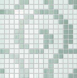 Фото  White Deluxe Mosaic