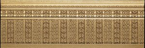 Фото  Skirting Board Gold