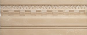 Фото  Skirting Board Garland Cream