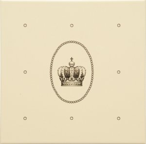 Фото  Dot Cartouche With Sovereign Crown