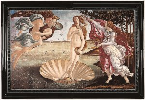 Фото  Botticelli Birth Of Venus (With Hanging Bracket)