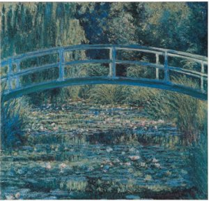 Фото  Monet Water-Lily Pond (With Hanging Bracket)