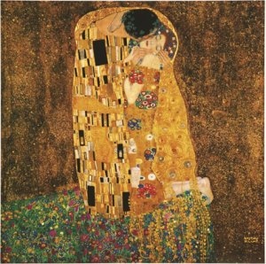 Фото  Gustav Klimt The Kiss (With Hanging Bracket)