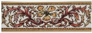 Фото  Autumn Foliage Border Colonial White
