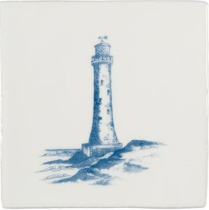 Фото  Lighthouse Blue On Papyrus W.2580