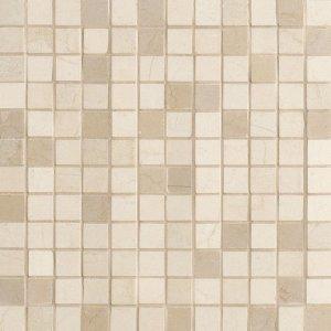 Фото  Mosaico 2,5x2,5 Lustro Crema Marfil