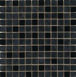 Фото  Mosaico 2,5x2,5 Lustro Nero Marquinia