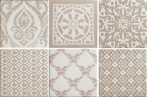 Фото  Mix Patchwork Ivory