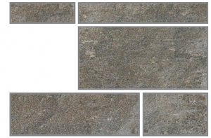 Фото  Mix 5 Dark Grey Nat. Rett. Outdoor