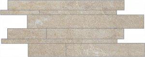 Фото  Mosaico Listelli Sfalsati Grey Nat. Rett. Indoor