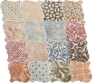 Фото  Cotto Patchwork Ceramic 21780
