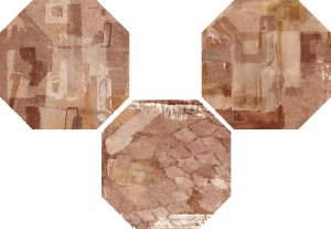 Фото  Ottagona Paint Decor Rust (3 Soggetti)