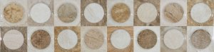 Фото  Decor Circles Marble Beige
