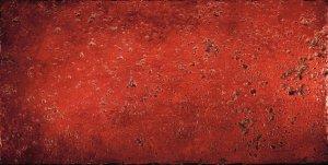 Фото  Red Venetian Lacca Decoro Travertino Fondo Rosso