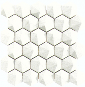 Фото  3D Hex. Enm. Show White