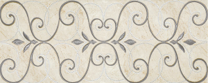 Фото  Inserto Arabescato Travertino Romano Beige
