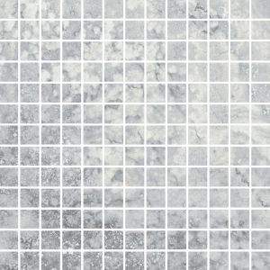 Фото  Mosaico Travertino Romano Silver Rett