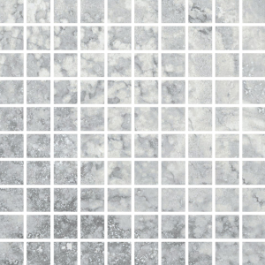 Фото  Mosaico Travertino Romano Silver