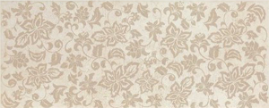 Фото  Flowers Travertino Romano Beige