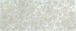 Фото  Flowers Travertino Romano Silver