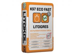 Фото затирочной смеси Litogres K97 Eco Fast K97 Eco Fast. Фото 1