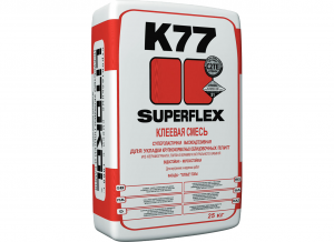 Фото затирочной смеси Superflex K77 K77. Фото 1