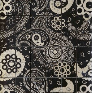 Фото  Paisley 50 Nero Old Silver